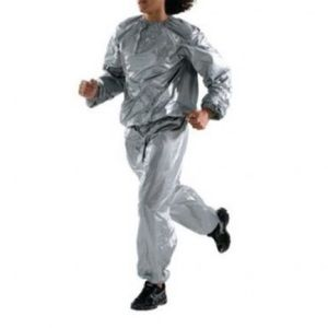Everest for her silver sauna suit